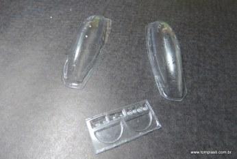 Peças em vacuum forming