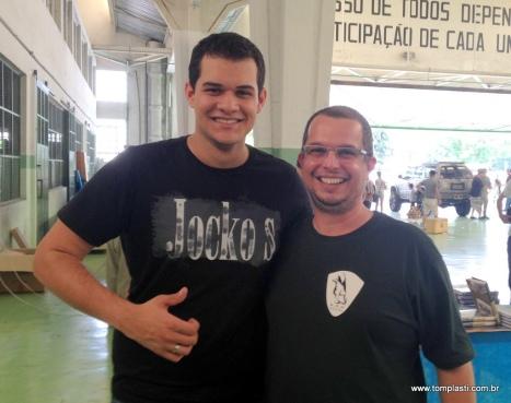 Com o amigo Bruno Villa