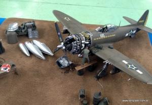 P-47D 1/32 do amigo Carlos Magno Leal
